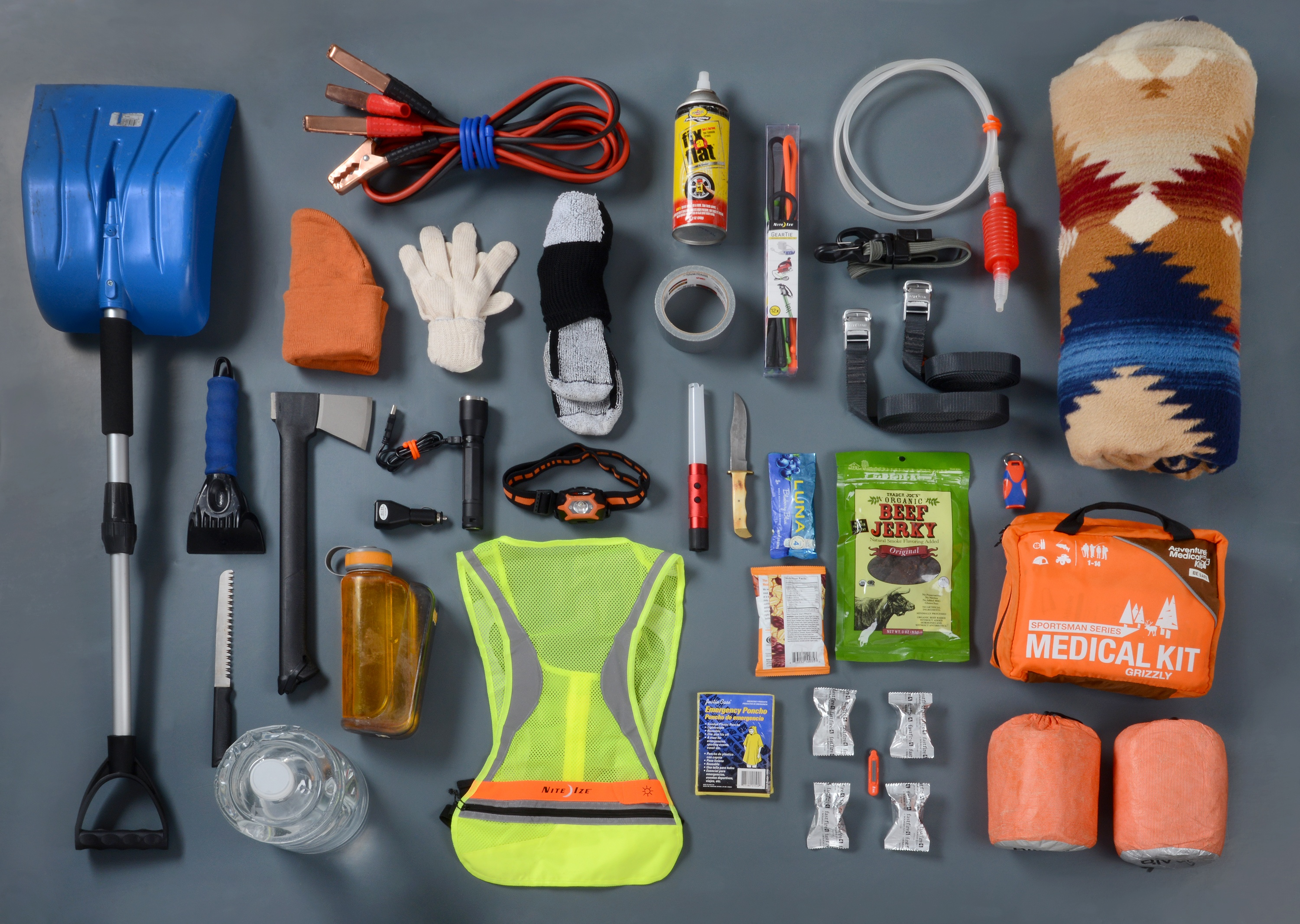 Diy Easy To Make Emergency Road Kit Service Force Towing